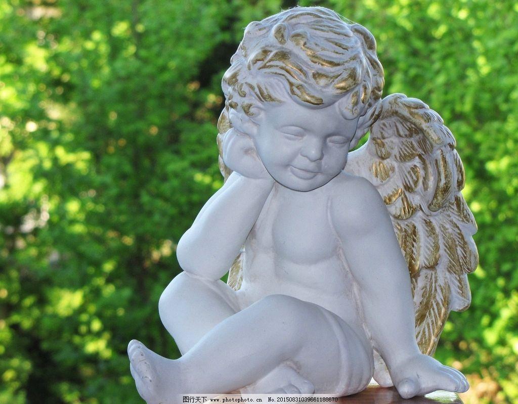 小天使雕塑图片图片