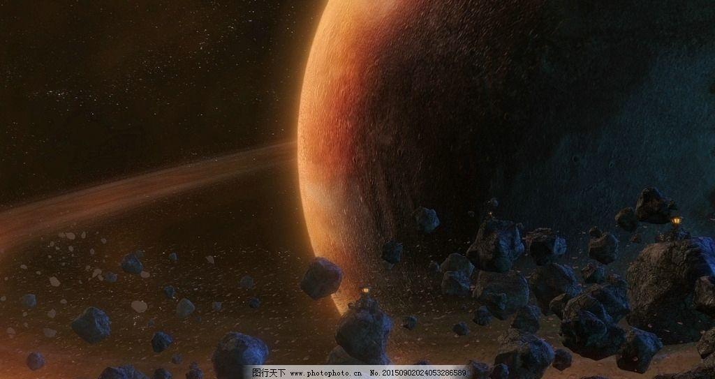 环行星带 奇幻 宇宙 星空 星球大战 绚丽缤纷 天马行空 想象