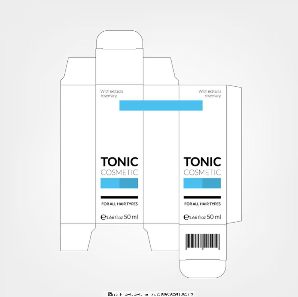 包装盒设计素材展开图 包装 设计 平面图 刀模 展开图 盒子 设计 广告