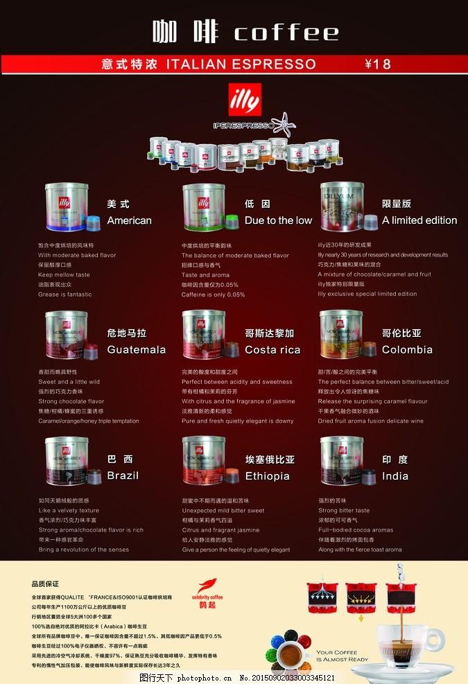 胶囊咖啡 意利咖啡 品牌故事 咖啡色背景 英文翻译