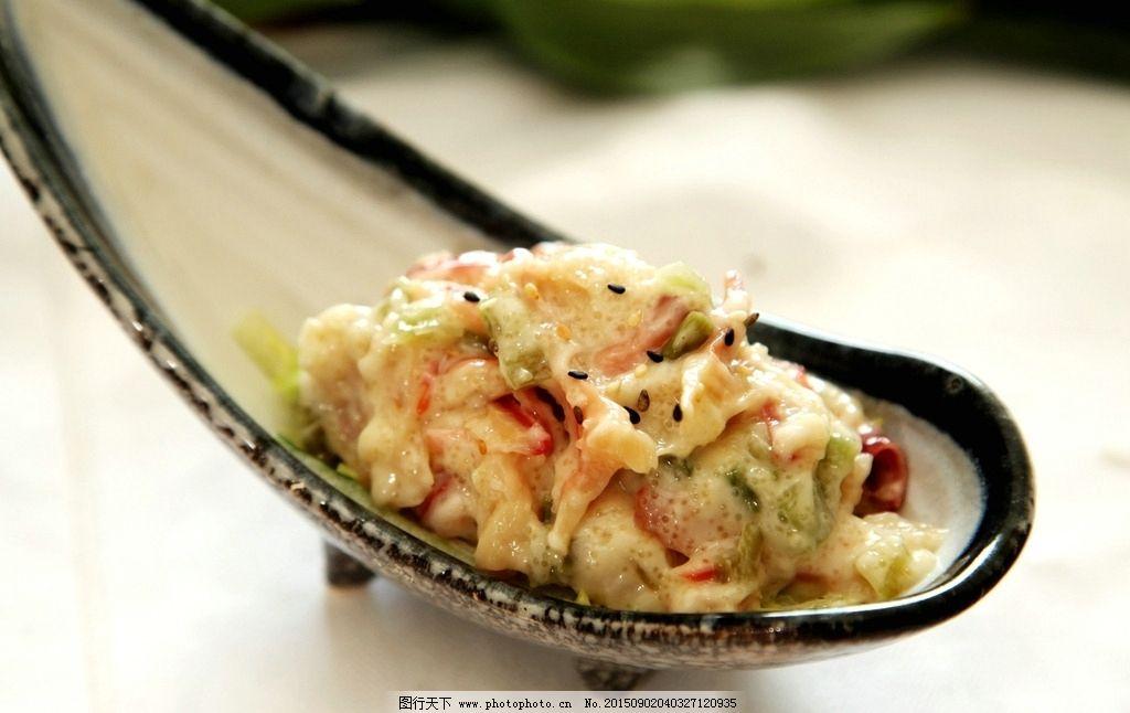 北极贝 沙拉 禾多 美式 美食 摄影 餐饮美食 西餐美食