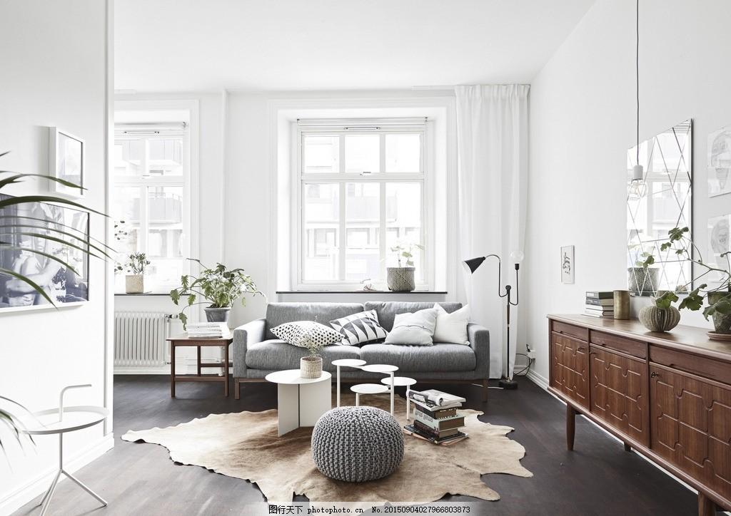 北欧宜家风格装修,家装 室内 优雅 装修效果图 住宅
