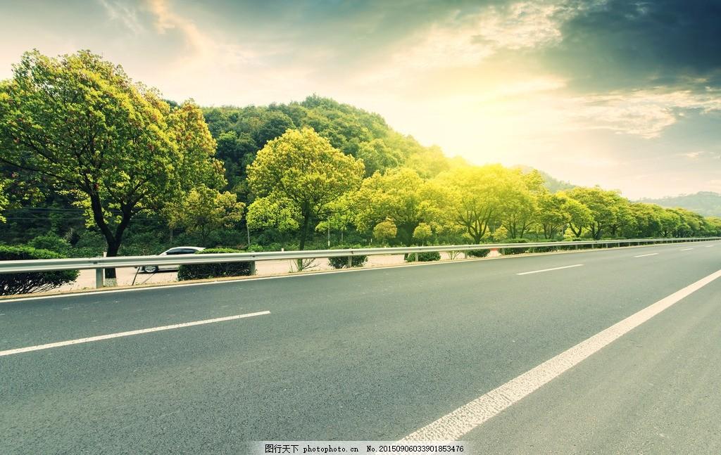 设计图库 自然景观 旅游摄影  秦皇岛公路 唯美 风景 风光 旅行 自然