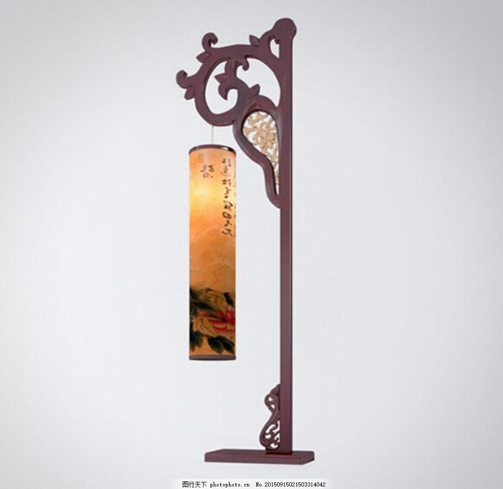 古风灯具模型,古风灯饰 中国风灯具 古典吊灯 中国-图