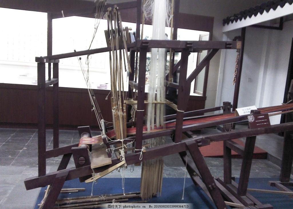 古代织布机