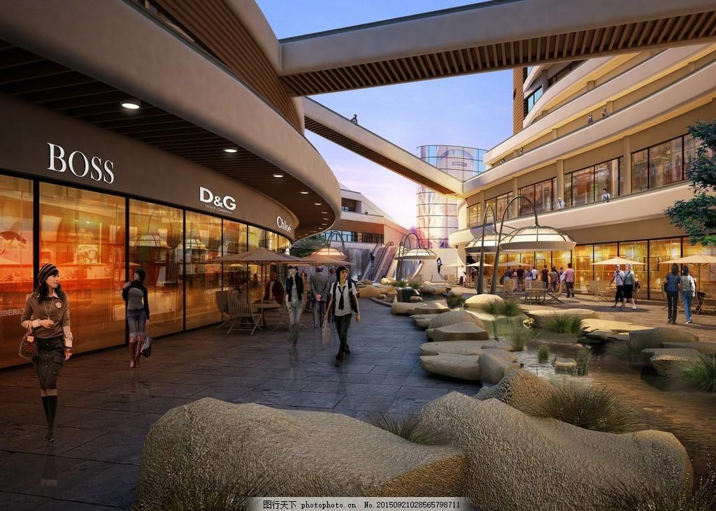 商场柜台 柜台效果图 逛商场 商来综全体 3d效果图 三维效果图 大厅