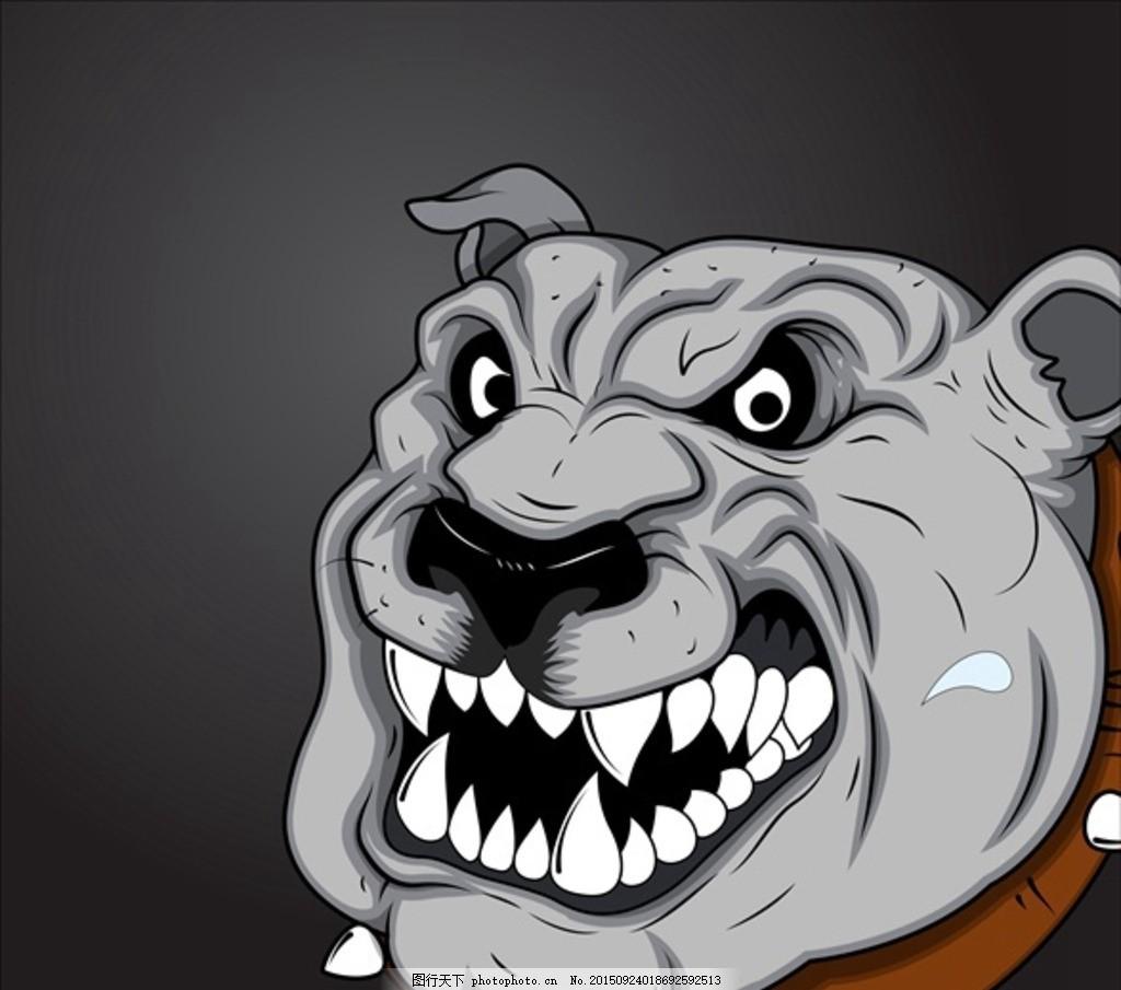 卡通动物图标动漫图标 小狗 狗头 猎犬 狗狗图标 卡通 动画 卡通动物图片