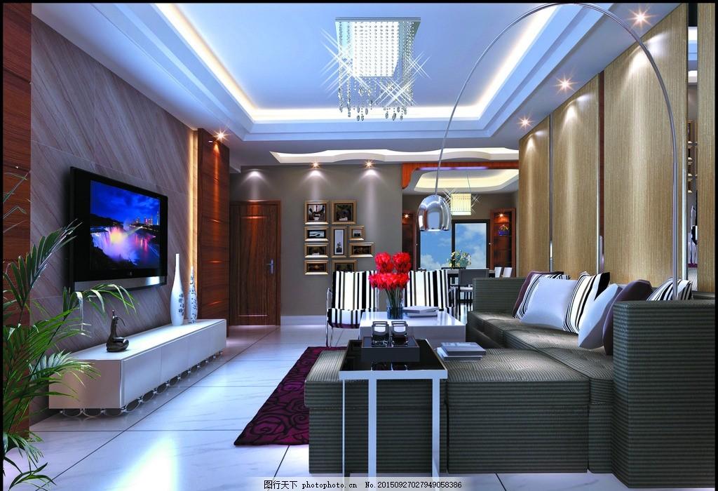 客厅装饰 室内装饰 客厅设计 客厅装修 客厅天花 墙壁装饰 客厅室灯光图片