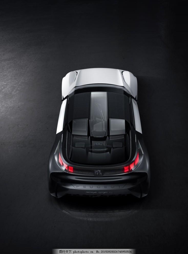 东风标致 标致 两厢 跑车 海报 设计 peugeot fractal concept 名车