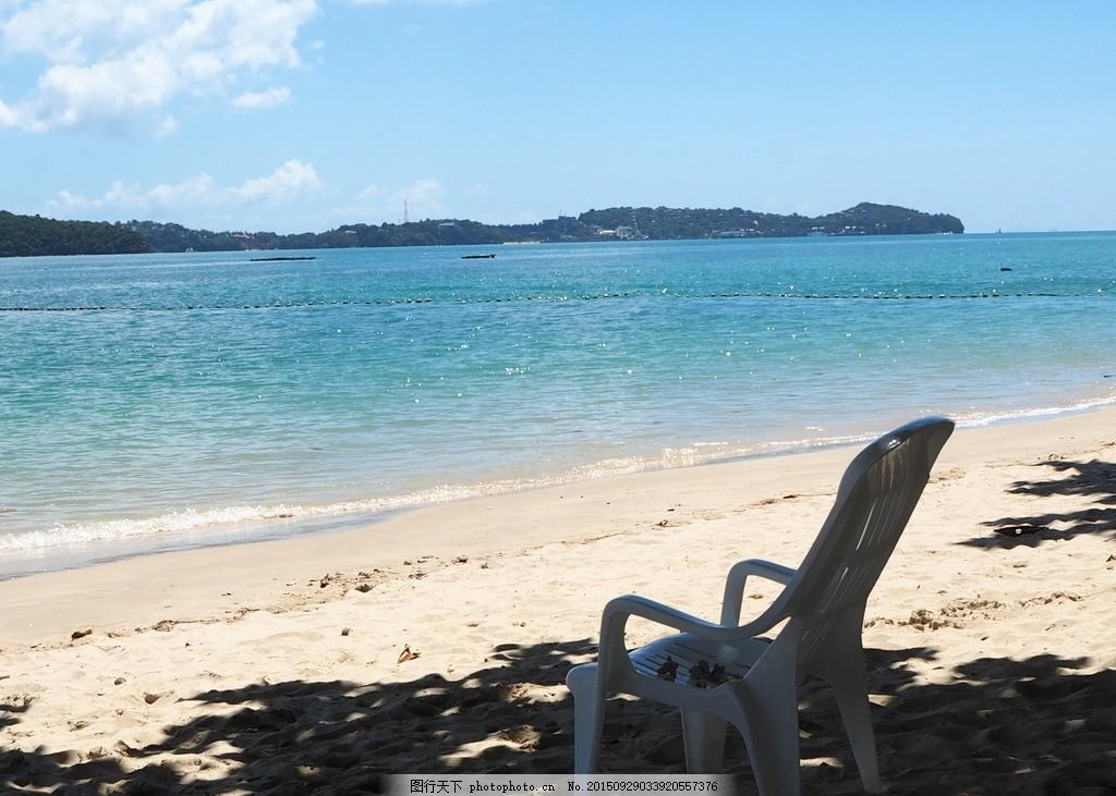 泰国 龙岛海滩 沙滩 海滩 大海 海岛 度假 小岛 夏天 海浪 私人 离岛