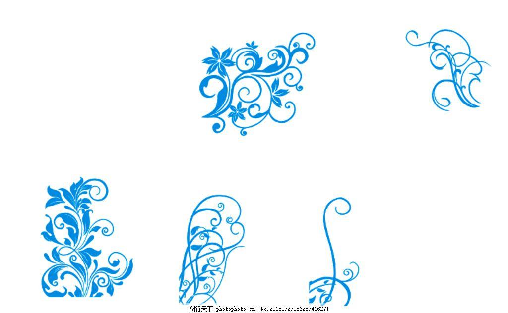 藤蔓花纹 欧式纹理 花纹 藤蔓 中式 底图花纹 设计 底纹边框 其他素材