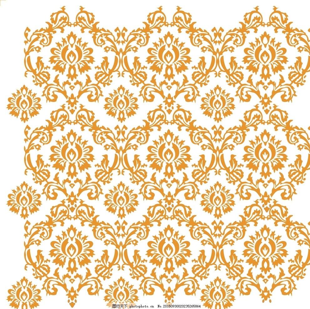 欧式壁花 古典 花纹 硅藻泥图片