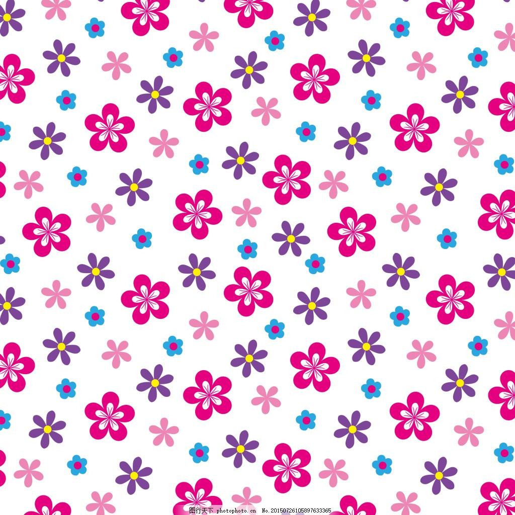 花朵,花底纹,花朵印花,女童印花,ai,白色,AI