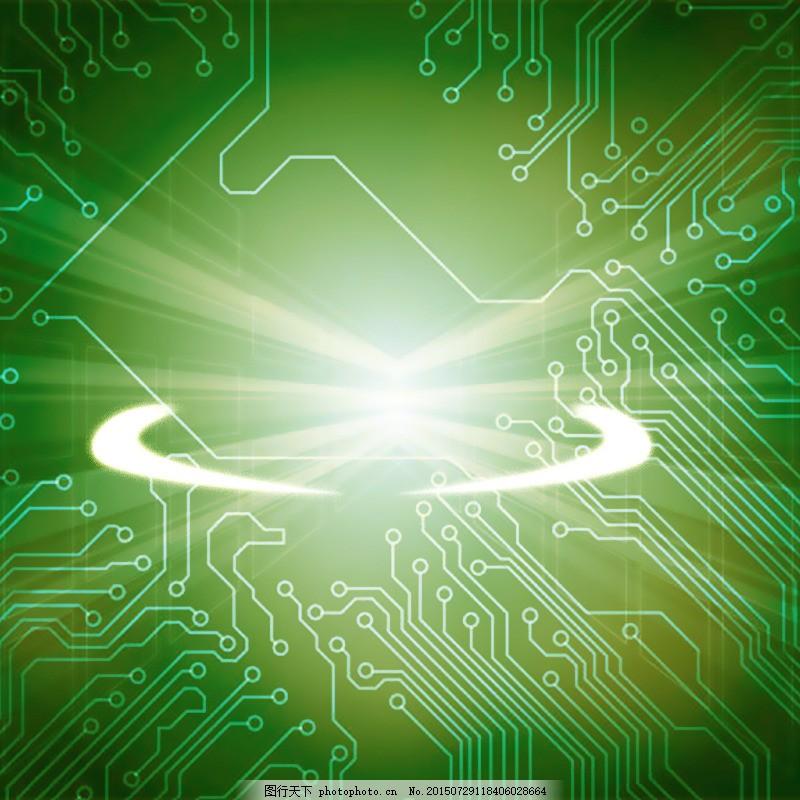 淘宝手机数码背景,电路板,psd,绿色