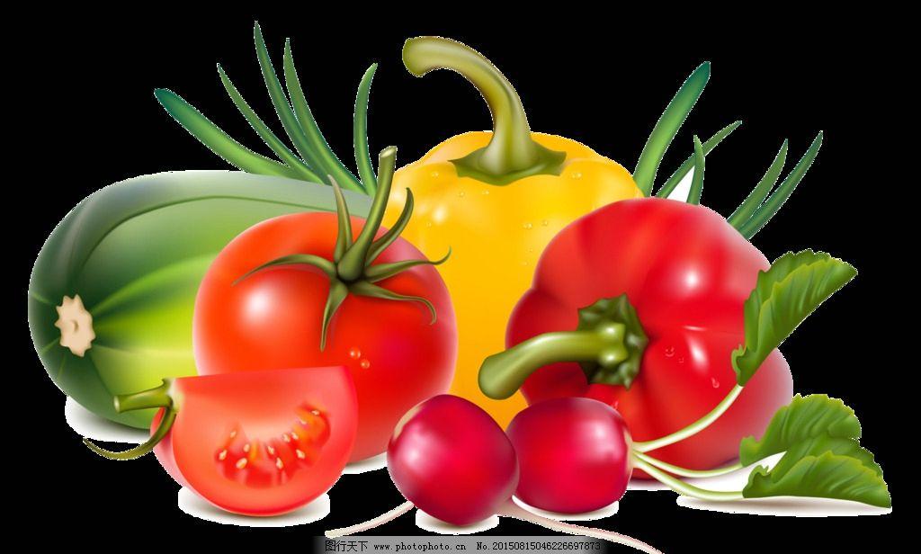 果蔬 蕃茄 辣椒 小蘿卜 透明果蔬圖片 生活百科 餐飲美食